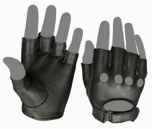 Classic Open Tip Motorcycle Gloves