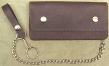 Men's Large Chain Wallet