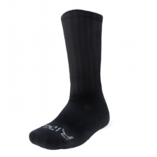Ridge Men's Black Crew Socks Size 6-9