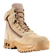 Ridge Desert Storm with Zipper Boots