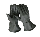 Classic Extended Cuff Motorcycle Gloves