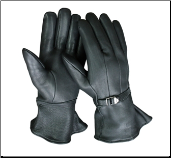 Classic Extended Cuff Thinsulate Insulation & Strap Gloves