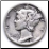 Genuine Mercury Dime