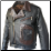 Two Tone D Pocket Horsehide Motorcycle Jacket