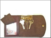 Driver's Leather Keycase