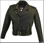 Basic Biker Leather Jacket