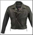Beltless Biker Leather Jacket