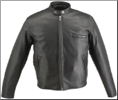 "Cafe ""Racer"" Horsehide Jacket"