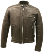 Fitted Racer Jacket