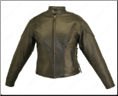 Classic Vented Leather Jacket