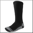 Ridge CoolMax Duty -  Black Socks  Size 10-13