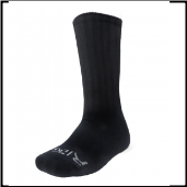 Ridge Men's Black Crew Socks Size 10-13